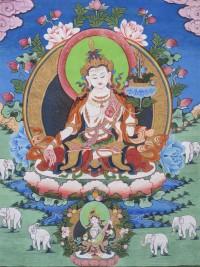 White Manjushri Empowerment and Heart Sutra Teaching