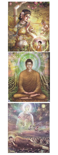 Saka Dawa (A Month Honoring the Buddha's Life)